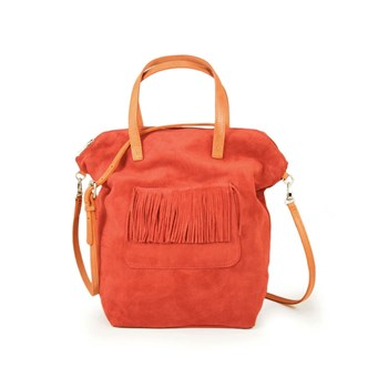 C Oui - Carnaby - Sac à main en cuir - orange