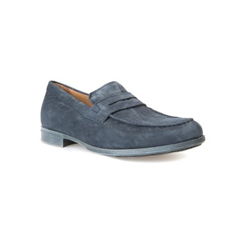 Geox - Besmington - Mocasines de cuero - denim azul