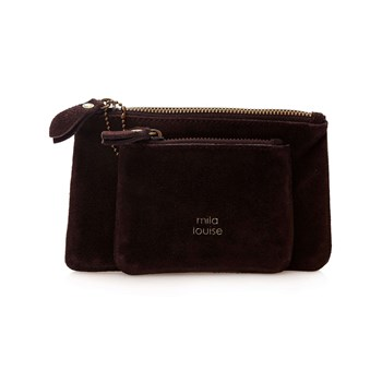 Mila Louise - Briny - Pochette in pelle - marrone