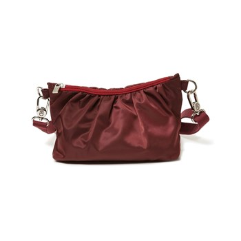 Cerise & Louis - Sac à main femme pochette en nylon Made in France - rouge