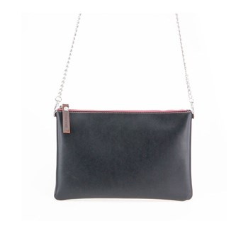 Ascetic - Pochette in pelle - nero
