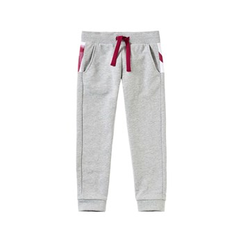Benetton - Pantalon jogging - gris clair