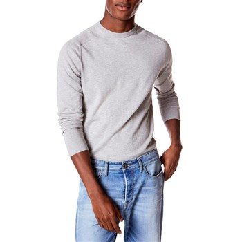 Benetton - Pull col rond - gris