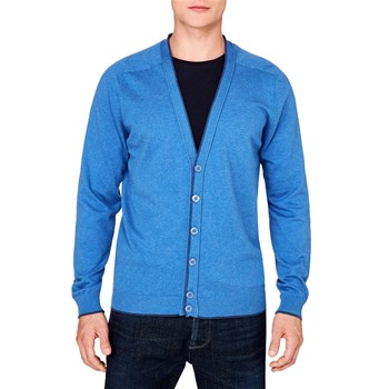 Benetton - Strickjacke - blau
