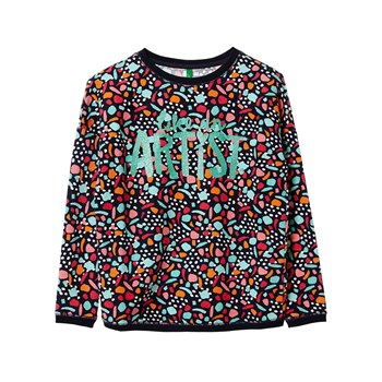 Benetton - Sweatshirt - marineblau