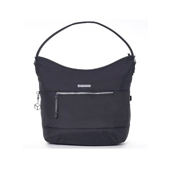 Hedgren - Sac finitions cuir - noir