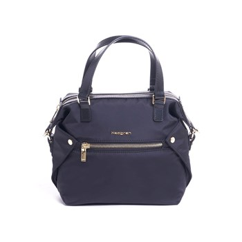 Hedgren - Sac à main finitions cuir - noir
