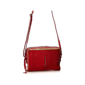 Pieces - Ledertasche - rot