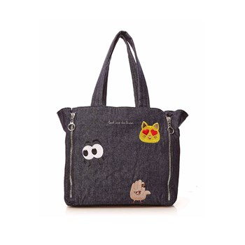 Paul & Joe Sister - Illusion - Sac cabas fantaisie - noir
