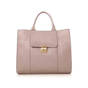 Paul & Joe Sister - Ivoira - Leren tote bag - grijs