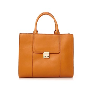 Paul & Joe Sister - Ivoira - Leren tote bag - camel