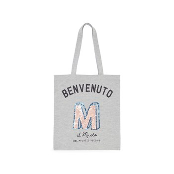 Monoprix Kids - Tote bag - gris chine