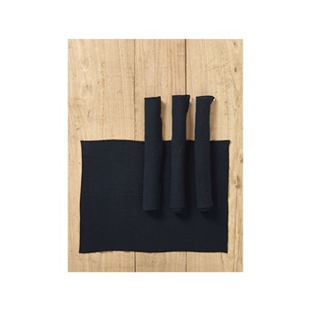Cyrillus - Lot de 4 sets de table en lin - bleu