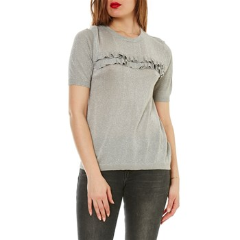 Only - Jersey - gris claro
