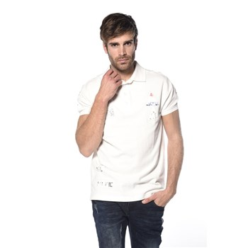 Deeluxe - Voile - T-shirt manches courtes - blanc