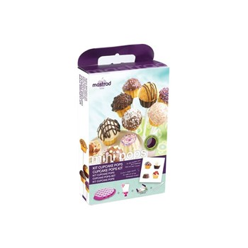 Mastrad - Kit cupcake pops - multicolore