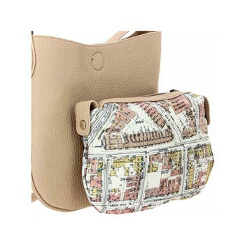 Nice Things - Sac bandoulière - beige