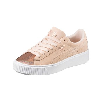Puma - Lunalux - Baskets en cuir - rose