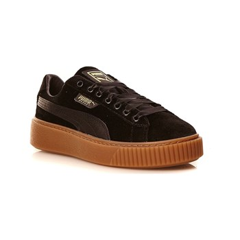 Puma - Platform VS Wns - Baskets en velours - noir