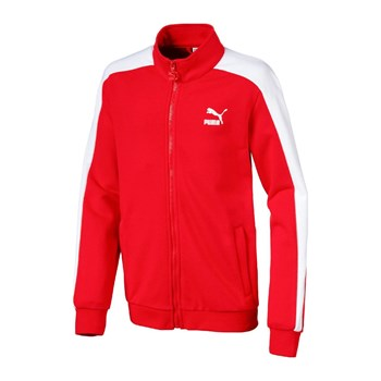 Puma - Classic T7 track - Sweat-shirt - rouge