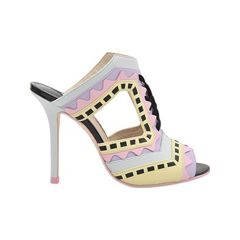 Sophia Webster - Riko - Mules en cuir - multicolore