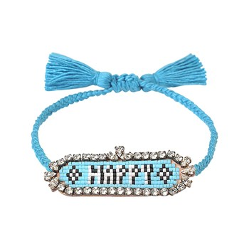 Shourouk - Happy - Bracelet cordon - multicolore