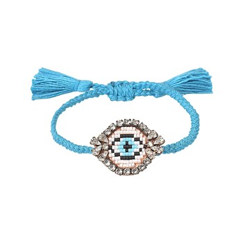 Shourouk - Eye - Bracelet cordon - multicolore