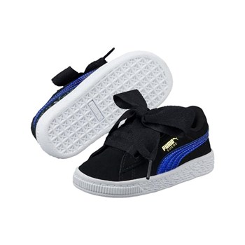 Puma - Suede heart SNK - Sneakers in pelle - nero