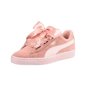 Puma - Heart Jewel - Baskets en cuir - rose