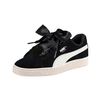 Puma - Heart Jewel - Baskets en cuir - noir