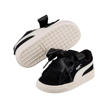 Puma - PS Suede Heart jewel V - Ledersneakers - schwarz