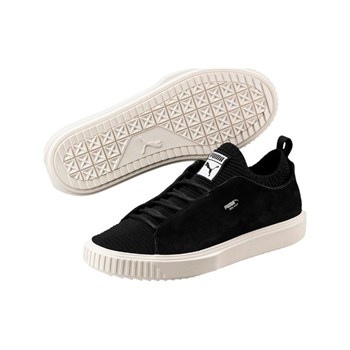 Puma - Breaker Knit Sunfaded - Zapatillas de cuero - negro