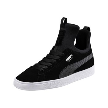 Puma - Suede Fierce - Baskets montantesen cuir - noir