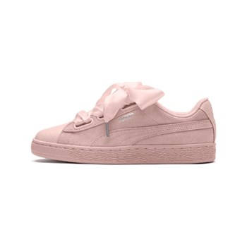 Puma - Suede Heart Bubble - Baskets en cuir - rose