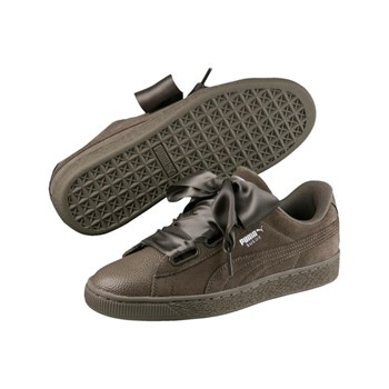 Puma - Suede Heart Bubble - Baskets en cuir - marron