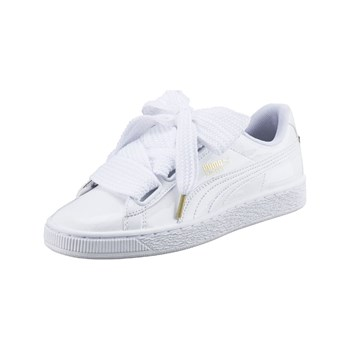 Puma - Heart - Baskets Mode - blanc