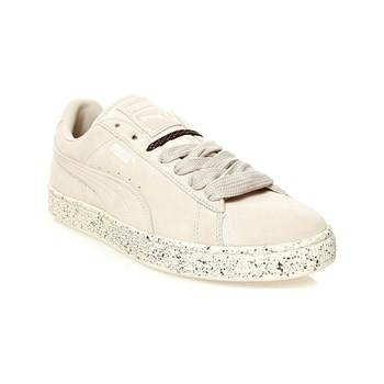 SUEDE CLASSIC SPECKLE - Sneakers in pelle scamosciata - bianco