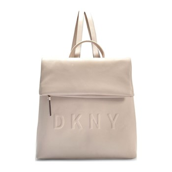 Tilly medium - Sac à dos en cuir - beige