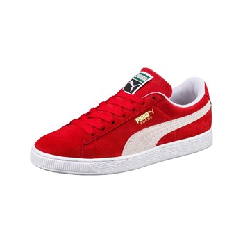 Puma - Baskets en cuir - rouge
