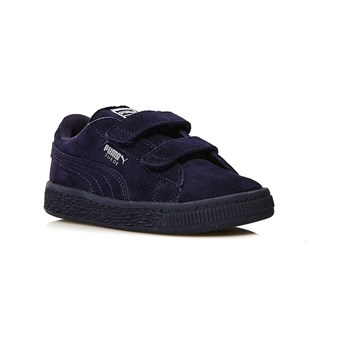 Inf Suede 2 Straps - Sneakers in pelle - blu scuro