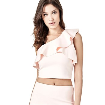 Guess - Crop Top - rose clair