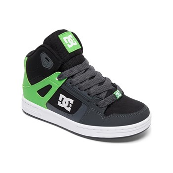 DC Shoes - Baskets montantes en cuir - multicolore
