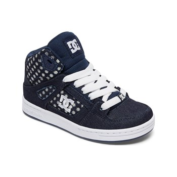 DC Shoes - Baskets montantes - bleu jean