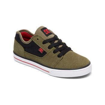 DC Shoes - Ledersneakers - khaki