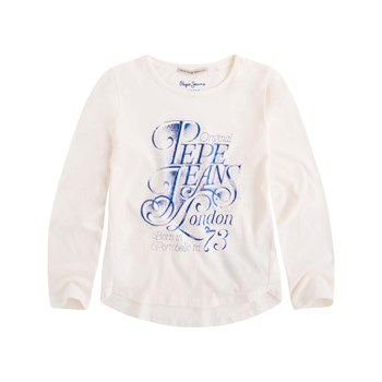Pepe Jeans London - Acacia Jr - T-shirt manches longues - blanc