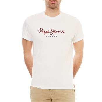 EGGO - T-SHIRT MANCHES COURTES - BLANC Pepe Jeans London