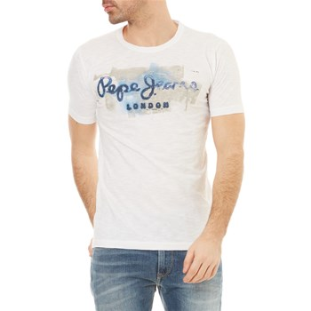 Pepe Jeans London - Golders - T-shirt manches courtes - blanc