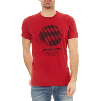 Pepe Jeans London - Mihr - T-shirt manches courtes - rouge