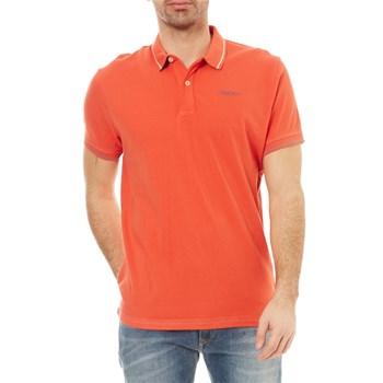 Pepe Jeans London - Angelico - Polo manches courtes - rouge
