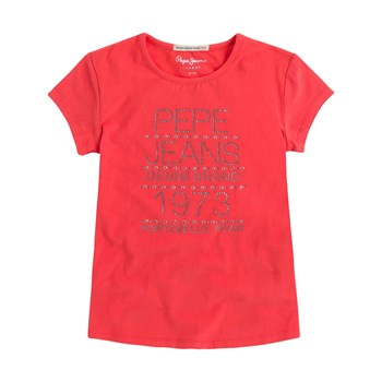 Pepe Jeans London - Jodie Jr - T-shirt manches courtes - rouge
